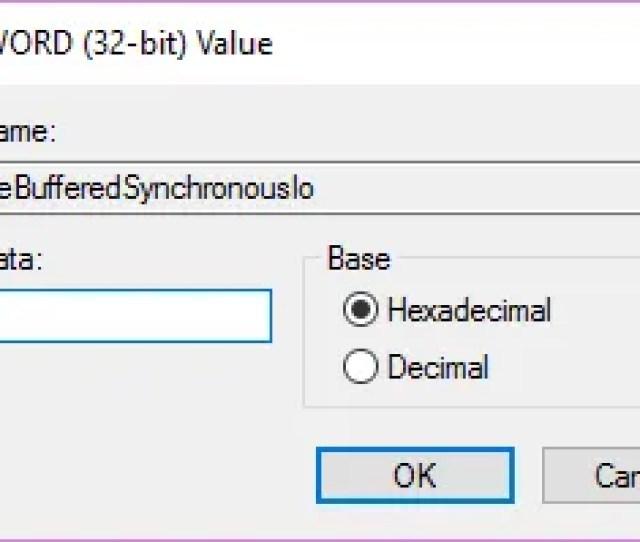 Edit Dword Copyfilebufferedsynchronousio