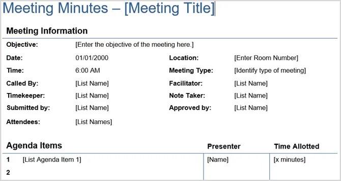 Verbale dettagliato della riunione Vertex42
