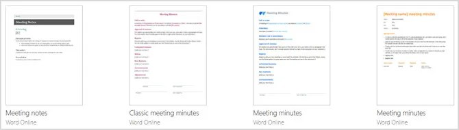 Word Online Minutes Pagina 2