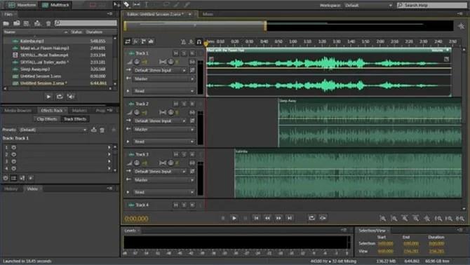 аудио-редактор аудирование-кубовый