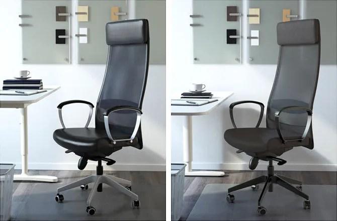 ИКЕА Маркус офисный стул для осанки
