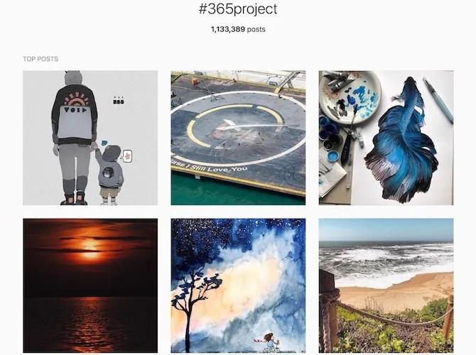 Проект Instagram 365