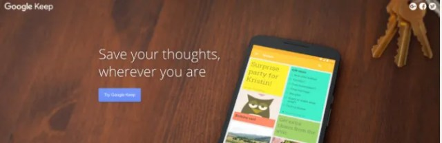 The Best Websites on the Internet Google Keep