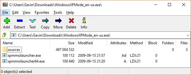 xp mode sources