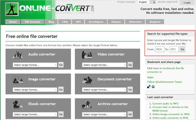 бесплатные онлайн-инструменты для конвертации файлов