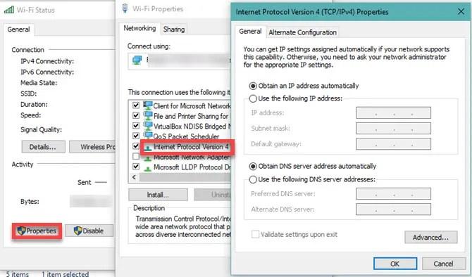 Windows 10 change IP settings - The  Internet Tips