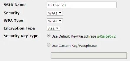 Router Wireless Passphrase