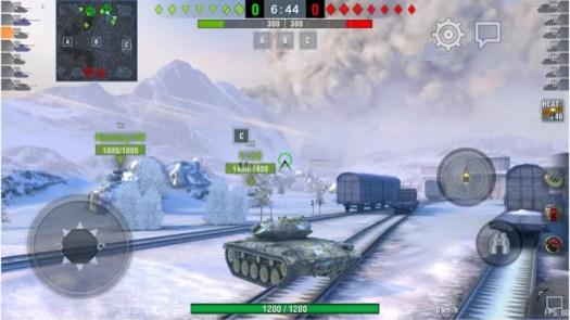 World of Tanks Blitz tank combat