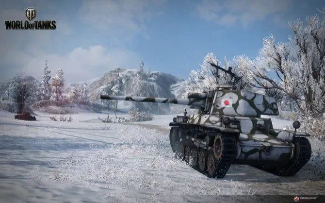 World of Tanks Японский танк рендер