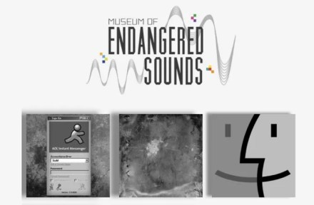 Museum of Endangered Sounds, a fun website when bored online