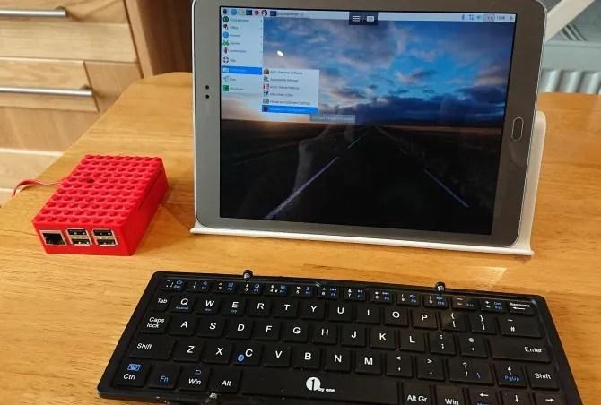 Используйте планшет Android в качестве дисплея Raspberry Pi
