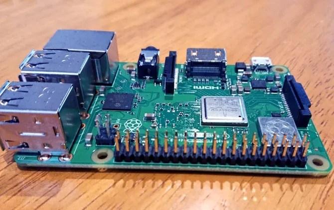 Raspberry Pi Model B 3+
