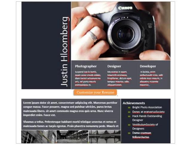 microsoft word resume templates - high impact resume