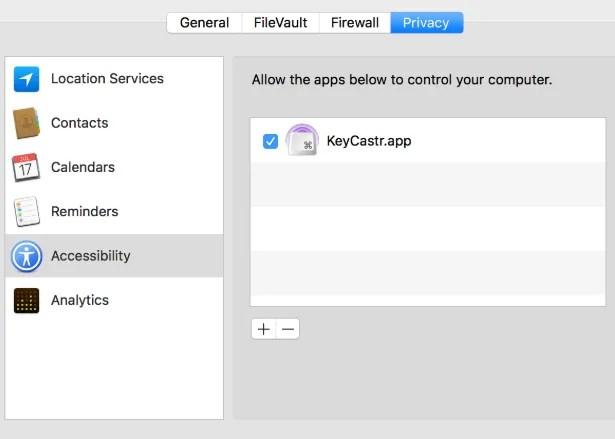How to Show On-Screen Key Presses on Mac keycastr