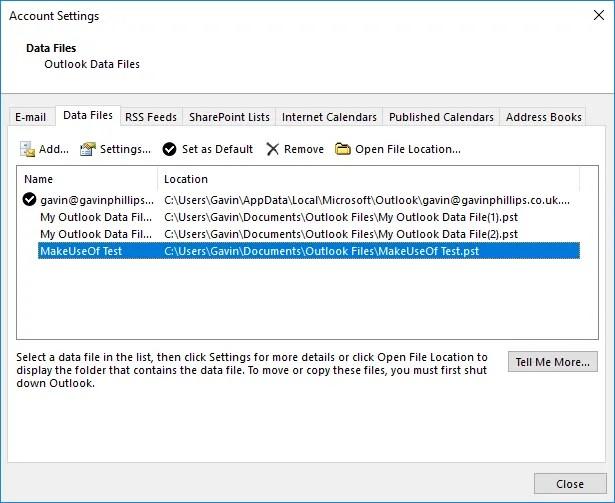 Configuración de la cuenta para la recuperación de contraseña de Microsoft Outlook con Recovery Toolbox