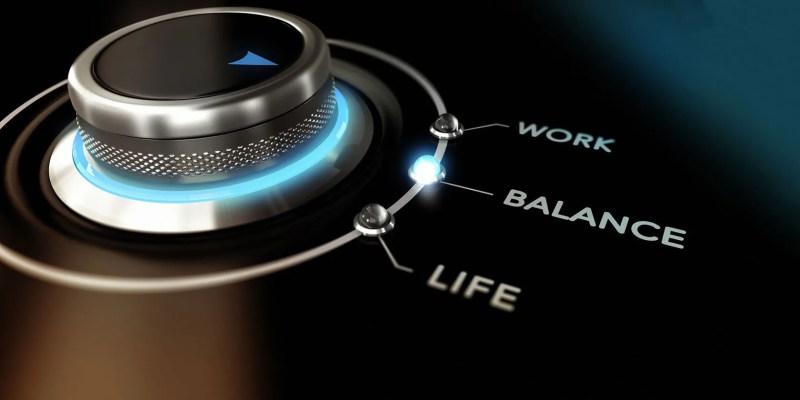 توازن الحياة مع العمل