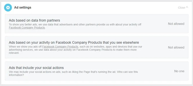 facebook ad settings 670x299 - 10 Essential Facebook Tips for Absolute Beginners