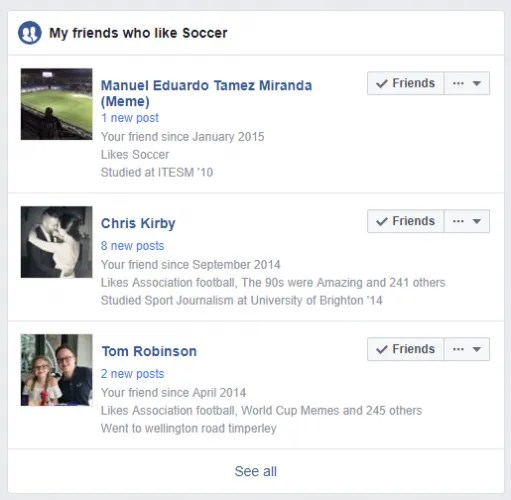 facebook soccer 511x500 - 7 Facebook Search Tips to Find What You're Looking For