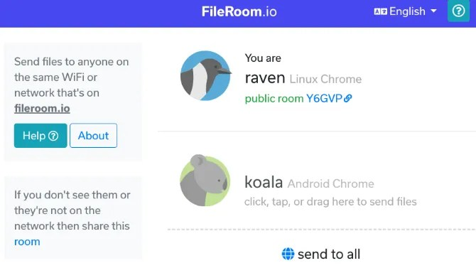 file sharing fileroom - 5 Fast and Free Web Apps to Transfer Large Files Locally or Online