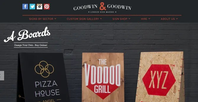 goodwin 670x347 - The 20 Best Shopify Stores to Try Instead of Amazon or eBay