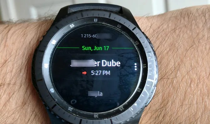 Samsung Gear Phone Watch