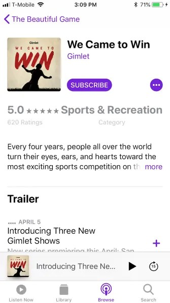 podcast details 335x596 - A Guide to the (Surprisingly Excellent) iPhone Podcasts App