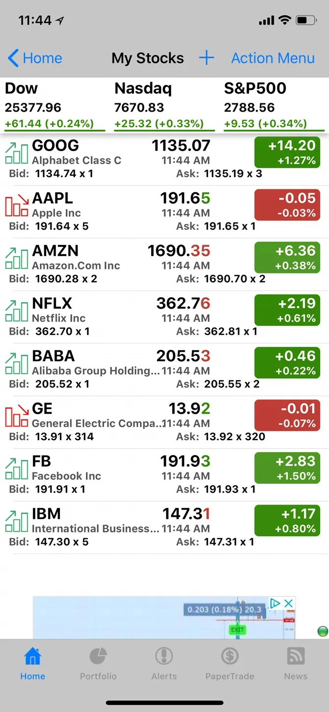 the 5 best free stock market apps for android and ios bardtech