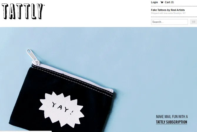 tattly 670x450 - The 20 Best Shopify Stores to Try Instead of Amazon or eBay