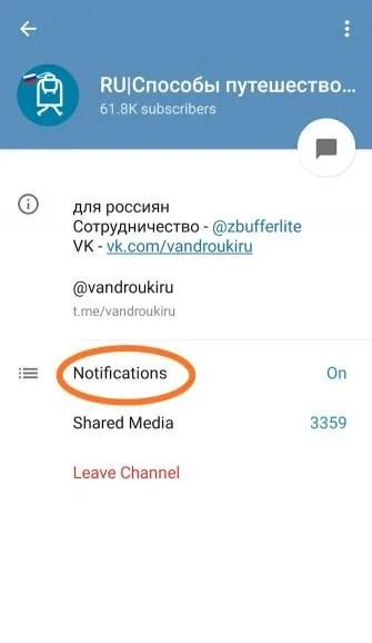 telegram app screenshot 1 335x578 - How to Mute People on Social Media: Facebook, WhatsApp, Reddit, and More