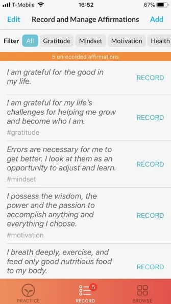 thinkup affirmations 335x596 - 5 Motivational Apps for iPhone to Help You Think Positive