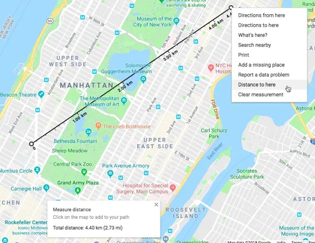 Google Maps - How to Find the Shortest Distance Between Two Points on Google Maps