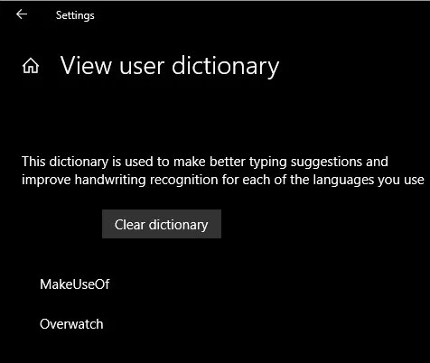 Windows-User-Dictionary-Clear