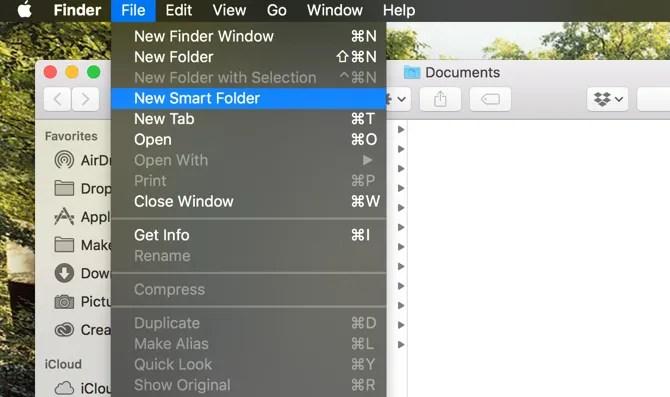 New Smart Folder Finder