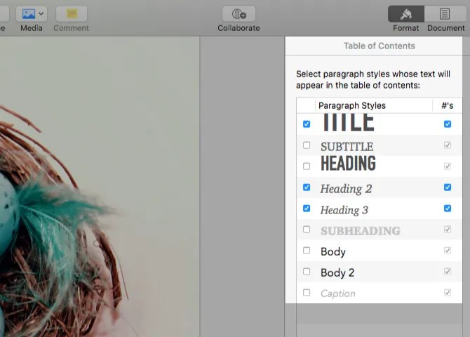 select-paragraph-styles-toc-pages-mac