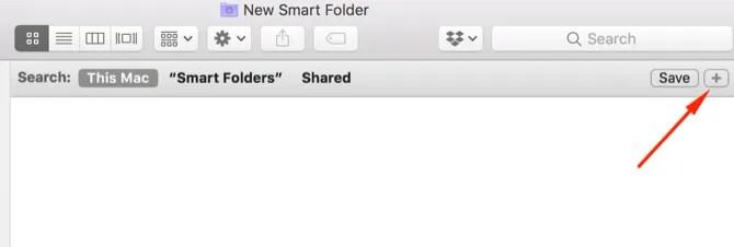 Mac Create New Smart Folder