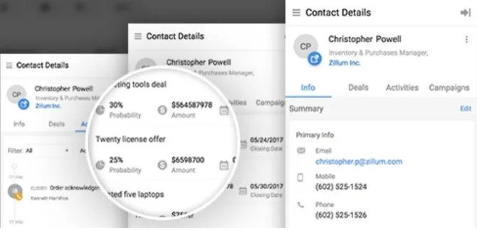 zoho gmail crm - The 7 Best Gmail CRMs Compared: Which Inbox Manager Is Best?