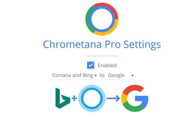Настройки Chrometana Pro