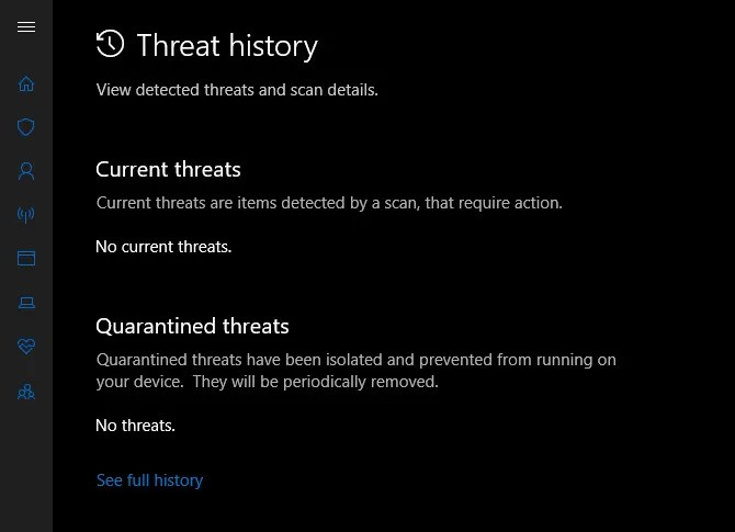 Windows Defender Threat History - How to Block Third-Party Junk Offers With Windows Defender