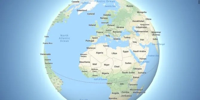 Google Maps Rejects Flat Earth Theory