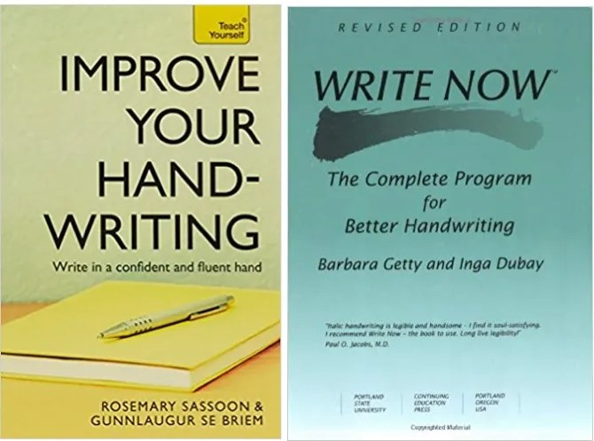 Books to Improve Handwriting - How to Improve Your Handwriting: 8 Resources for Better Penmanship