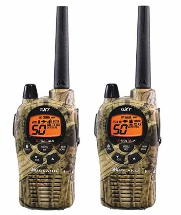 Midland GXT1050VP4 - The 5 Best Walkie Talkies and Ham Radios for Two-Way Radio Lovers