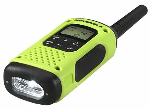 motorola two way radio flashlight
