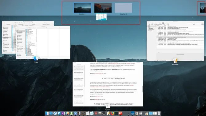 move the window from desktop1 todesktop2 - Write Better on Your Mac With These 9 Apps and Tricks