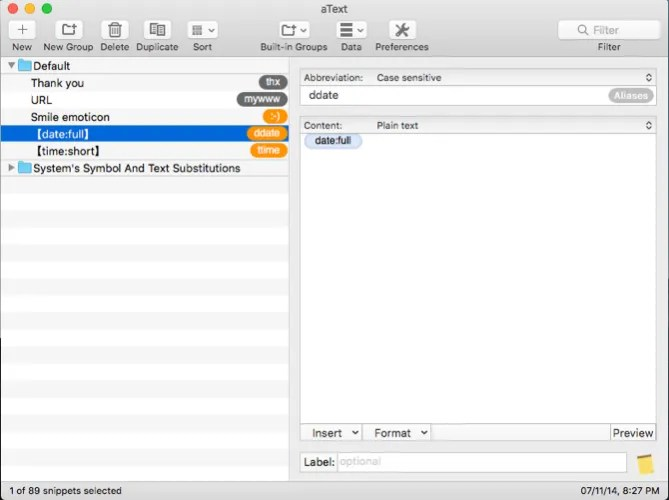 using atext textexpander utility - Write Better on Your Mac With These 9 Apps and Tricks