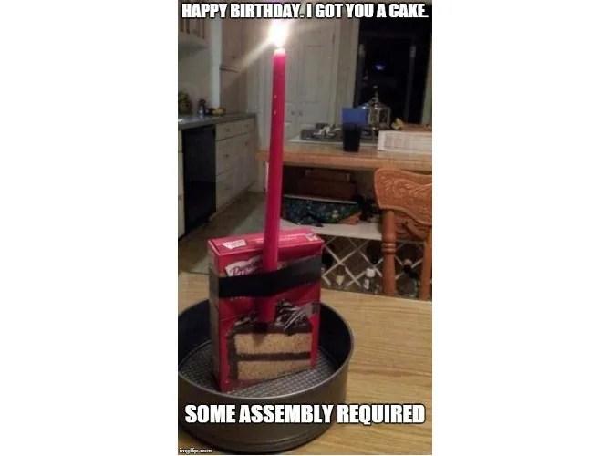 Compleanno del Compleanno della Torta