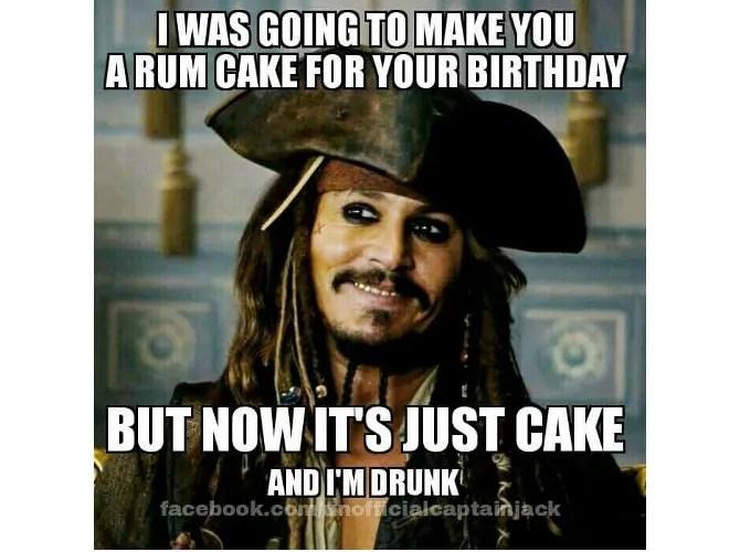 Meme del compleanno di Capt Jack