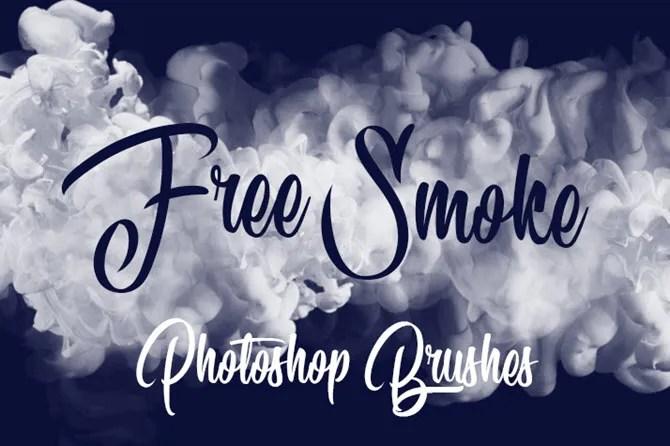 Pennelli da fumo gratuiti per Adobe Photoshop