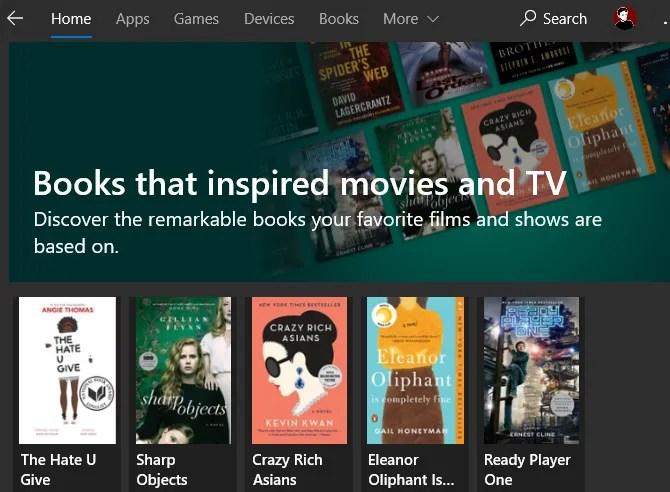 Libri di Microsoft Store