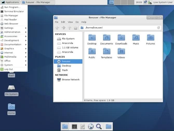L'ambiente desktop Xfce