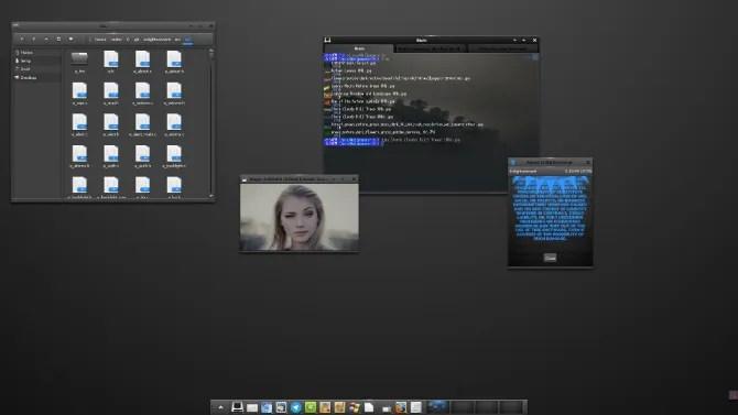 Просветление рабочего стола Linux